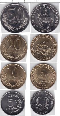 Каталог - подарочный набор  Албания Албания 2000