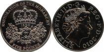 Продать Подарочные монеты Великобритания Восстановление монархии 2010 Медно-никель