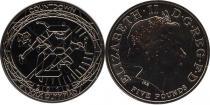 Продать Подарочные монеты Великобритания Олимпийские игры 2012 2010 Медно-никель