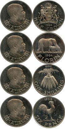 Каталог - подарочный набор  Малави Первый выпуск 1964 года