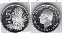 Каталог монет - монета  Самоа 5 сен