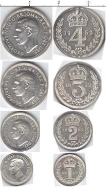 Каталог - подарочный набор  Великобритания Маунди-сет 1952 (Благотворительный набор)