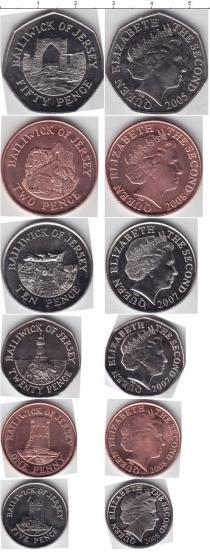 Каталог - подарочный набор  Остров Джерси Остров Джерси 2005-2008
