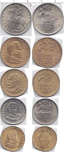 Каталог - подарочный набор  Чили Чили 1971-1972