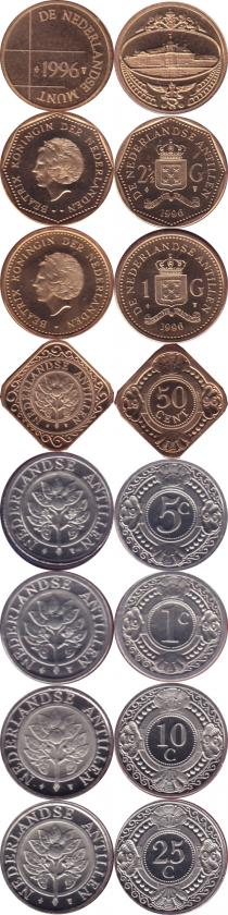 Каталог - подарочный набор  Антильские острова Выпуск 1991 года