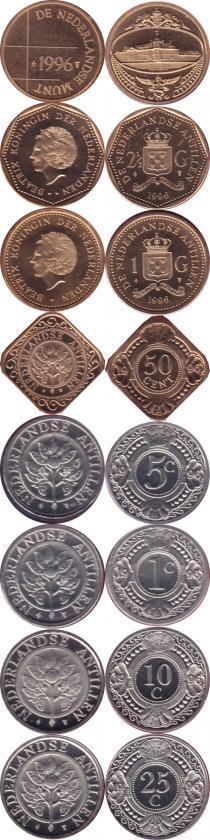 Каталог - подарочный набор  Антильские острова Выпуск 1996 года