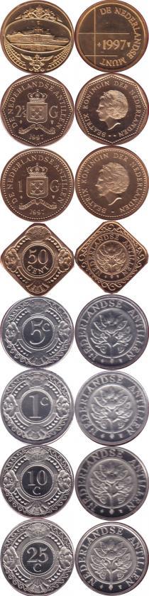 Каталог - подарочный набор  Антильские острова Выпуск 1997 года