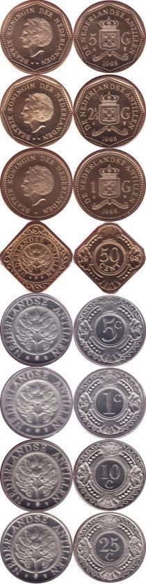 Каталог - подарочный набор  Антильские острова Выпуск 1998 года