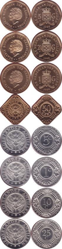Каталог - подарочный набор  Антильские острова Выпуск 1999 года