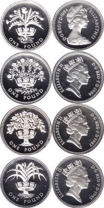 Каталог - подарочный набор  Великобритания Королевский выпуск 1984-87