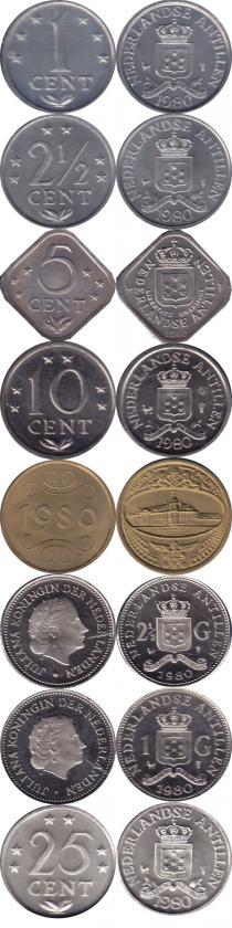 Каталог - подарочный набор  Антильские острова Выпуск 1979 года