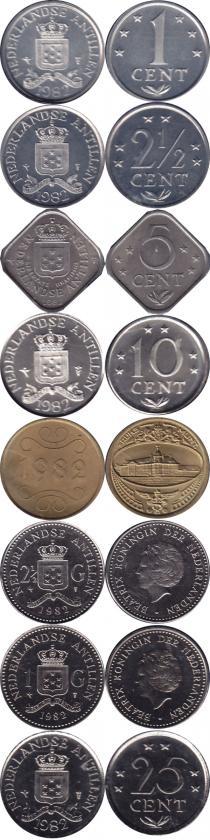 Каталог - подарочный набор  Антильские острова Выпуск 1981 года