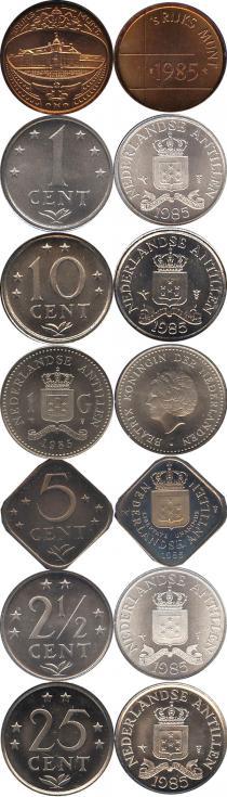 Каталог - подарочный набор  Антильские острова Выпуск 1983 года