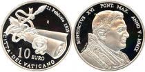 Каталог - подарочный набор  Ватикан 80-летие основания Ватикана