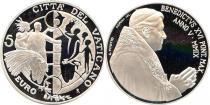 Продать Подарочные монеты Ватикан Международный день мира 2009 Серебро