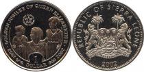 Каталог - подарочный набор  Сьерра-Леоне Золотой юбилей королевы
