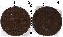 Каталог монет - монета  Швеция 1 скиллинг