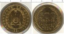 Каталог монет - монета  Джибути 500 франков