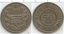 Каталог монет - монета  Гайана 50 центов
