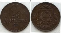 Каталог монет - монета  Латвия 2 сен