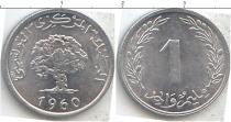 Каталог монет - монета  Тунис 1 миллим