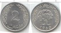 Каталог монет - монета  Тунис 2 сантима