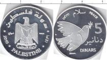 Каталог монет - монета  Палестина 5 динар
