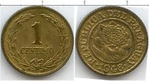 Каталог монет - монета  Парагвай 1 сентесимо