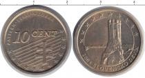 Каталог монет - монета  Словакия 10 евроцентов