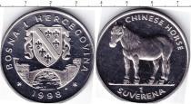 Каталог монет - монета  Босния и Герцеговина 1 суверен