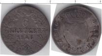 Каталог монет - монета  Хохенлохе 6 крейцеров