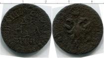 Каталог монет - монета  1689 – 1725 Петр I 1 деньга