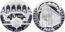 Продать Подарочные монеты Италия 700-летие Святой Кьяры 2010 Серебро