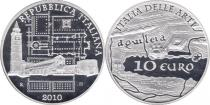Продать Подарочные монеты Италия Искусство Италии 2010 Серебро