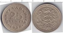 Каталог монет - монета  Эстония 25 сенти