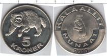Каталог монет - монета  Гренландия 5 крон