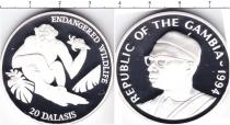 Каталог монет - монета  Гамбия 20 даласи