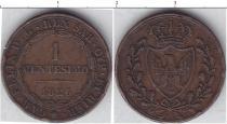 Каталог монет - монета  Сардиния 1 чентезимо