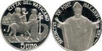Продать Подарочные монеты Ватикан Международный день миграции 2010 Серебро