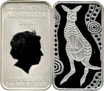Продать Подарочные монеты Австралия Австралийский кенгуру 2008 Серебро
