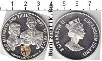 Каталог монет - монета  Аскенсион 50 пенсов