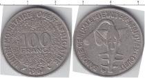 Каталог монет - монета  КФА 100 франков