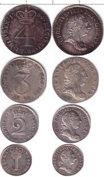 Каталог - подарочный набор  Великобритания Георг III, Маунди-сет 1784 (Благотворительный набор)