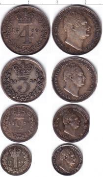 Каталог - подарочный набор  Великобритания Георг IIII, Маунди-сет 1834 (Благотворительный набор)