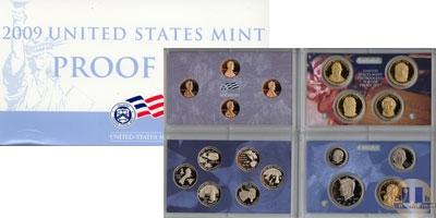 Каталог - подарочный набор  США Выпуск 2009 пруф-сет