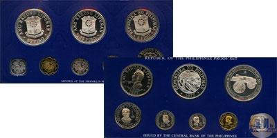 Каталог - подарочный набор  Филиппины Набор монет 1977 года