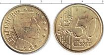 Каталог монет - монета  Люксембург 50 евроцентов