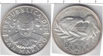Каталог монет - монета  Сан-Марино 5000 лир