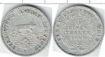 Каталог монет - монета  Анхальт-Бембург 1/6 талера