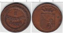 Каталог монет - монета  Баден 1 крейцер